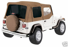 SOFT TOP SPICE TINTED WINDOWS 68217 1988-1995 FOR JEEP WRANGLER