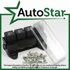 4 Way Splash Proof Automotive Relay Holder Box 4/5 PIN
