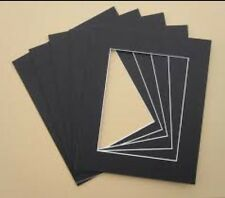 """2 x Professional Picture Framing Mat Boards 16x20"""" with A3 Window"""