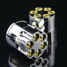 42MM BULLET HERB  TOBACCO GRINDER 3 PART METAL MAGNETIC POLLINATOR CRUSHER O
