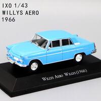 1:43 SCALE IXO Toy WILLYS AERO WILLYS 1966 CLASSIC DIECAST CAR MODEL