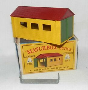1950s.Lesney Matchbox Accessory,No 3 Garage,,complete with clip.Mint Boxd,Orignl