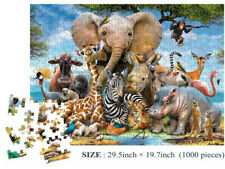 1000 Piece Animal World Jigsaw Puzzles For Adult Kids Educational Puzzle Gift