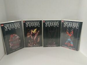 Complete Set Of Spider-Man Reign 1-4 Peter Parker Amazing Spectacular Avengers