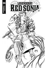 LEGENDERRY RED SONJA #4 1:10 Joe Benitez B&W Cover B Variant Comic Dynamite