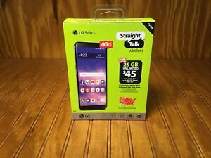 New Sealed Straight Talk LG Solo LTE L423DL Prepaid Android Smartphone 4G LTE