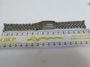Vintage Longines 18mm Chronograph Bracelet StainlessSteel Jubilee Beads of Rice