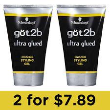 got2b (Lot 2) Ultra Glued Invincible Styling Hair Gel 1.25 oz by Schwarzkopf