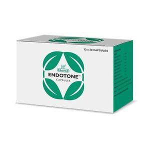 Charak ENDOTONE 20 Capsules   Herbal   Ayurveda   Free Shipping