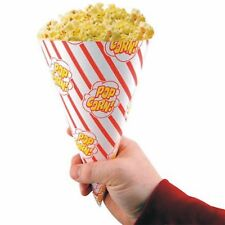 250 x Popcorn Cones, Popcorn Bags, Movie Night, Birthday Parties