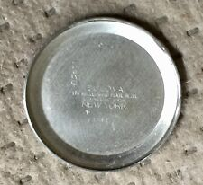 Vintage Bulova Watch Case Original SS Back #5109429