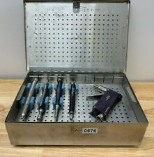 Stryker Micro Aire Surgical Drill Set 1640 000 1700 000 1220 000 P 0676