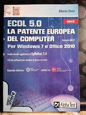 ECDL 5.0 - LA PATENTE EUROPEA DEL COMPUTER - A. CLERICI - WINDOWS 7