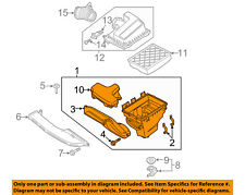 FORD OEM 13-18 Fusion Air Cleaner Box-Lower Bottom Housing Body DS7Z9A600C