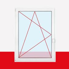 Fenster Kunststofffenster Weiß 1.flg Dreh Kipp 2-/ 3-fach Verglasung alle Größen