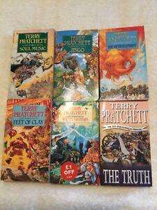 Terry Prachett Paperback collection