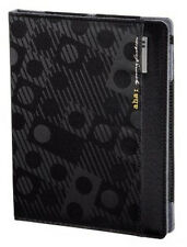 "aha ""Lenni"" Portfolio Case for Apple iPad2, 3 & 4 Generation in Black (UK Stock)"