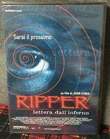 Ripper Lettere Dall'Inferno DVD Sarai il Prossimo Nuovo Sigillato N