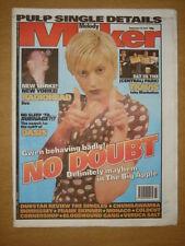 MELODY MAKER 1997 SEP 13 NO DOUBT RADIOHEAD TRAVIS PULP