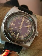 """Wonder Watch diver 20 atmos (200 mt) automatic all steel vintage 70's """""""