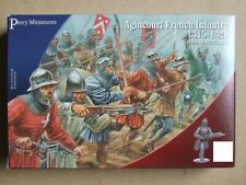 Agincourt FRENCH INFANTRY - 28mm (Perry Miniatures) - XBow OR Weapons - 4 MODELS