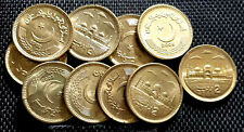 2006 PAKISTAN Two Rupee Brass coin, 10pcs dia22.5mm UNC(+FREE 1 coin)#D6221