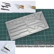 MADWORKS Model Accessories Craft Tools Photo Etch 8PCS Saw + 2PCS Cover Cap MT04