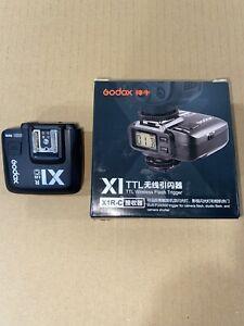 US Godox X1R-C 2.4G E-TTL II Wireless Receiver Trigger F Canon Camera Speedlite