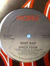 "Disco Four – Whip Rap / Let It Whip 12"" Vinyl Single 1982"