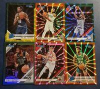 2019-20 Donruss Basketball Green Yellow Flood Orange Pink Laser Parallels U Pick