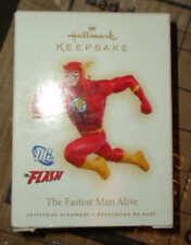 DC Comics Hallmark Flash Noël Ornement Figure New 2009 ltd Ed Keepsake