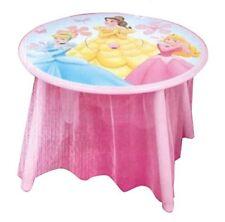 Tavolo Disney in legno Principesse Disney-Misure: 60cm x 60cm con altezza 43,5cm