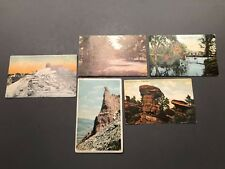 Vintage Postcards Lot Yellowstone Garden of Gods Lick Observatory 1910-1912
