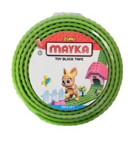 Zuru Mayka Toy Block Tape BLACK 2M/6.5FT New in Package
