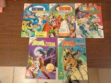 ( 5 )  BATMAN  SPANISH   COMIC  BOOKS    VERY  CLEAN