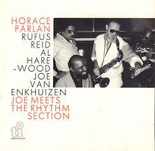 PARLAN, REID, HAREWOOD, VAN ENKHUIZEN – JOE MEETS THE RHYTM SECTION (1987 CD)