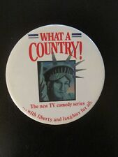 What A Country! The new TV comedy series..w/liberty and laughter for all - Pin