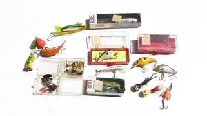 Large Lot VINTAGE FISHING LURES & Flies
