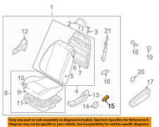 GM OEM Front Seat-Recline Knob Left 96439573