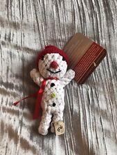 Brand New W/ Tags Snowman Rope Dog Tot By Jax & Bones