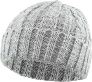 Cable Knit Beanie Ski Cap Skull Hat Warm Solid Winter Cuff New Blank Heather