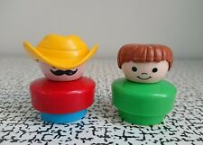 90s Vintage Retro Action Figures Fisher Price Little People Mexico