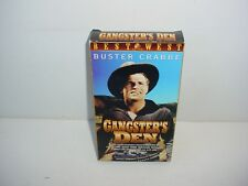 Gangsters Den VHS Video Tape Movie