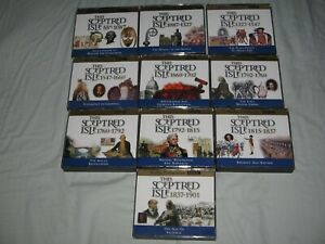 THIS SCEPTRED ISLE (1998) CHRISTOPHER LEE  COMPLETE 28 DISC BBC SERIES Audio CDs