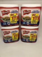 4- 6 Oz Boxes French's Original Crispy Fried Onions, Baking Food
