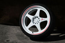 7 Twenty Style 21 Alloy Wheels 5x114.3 18X8J ET42 Nissan Skyline 200SX Drift JDM