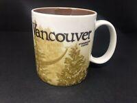 Starbucks Vancouver Icon Mug Collector Series 2009 Coffee City Mug
