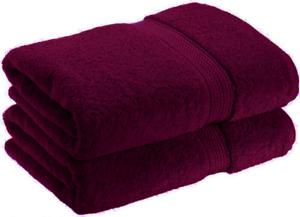 "2 X Large Jumbo Bath Sheet 100% Virgin Cotton Super Soft 36x71"" Ring Spun Towels"