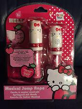 Hello Kitty Springseil mit Musik 3 versch. Rhytmen ausziehbar Sanrio NEU OVP