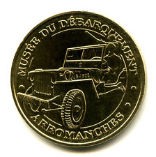 14 ARROMANCHES Jeep, 2012, Monnaie de Paris